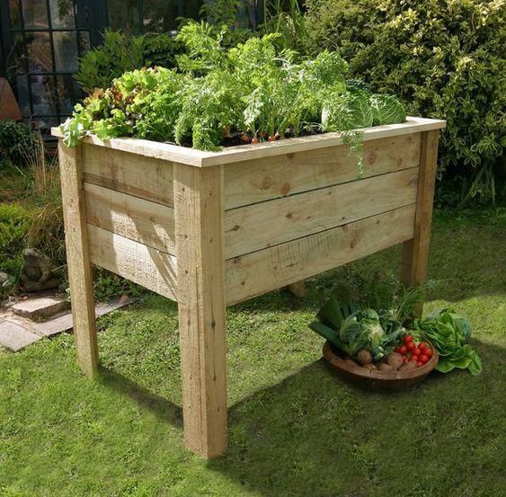 35 Advantageous Small Vegetable Garden Ideas For Your: How To Build A Small Raised Bed That Doubles As A Bench