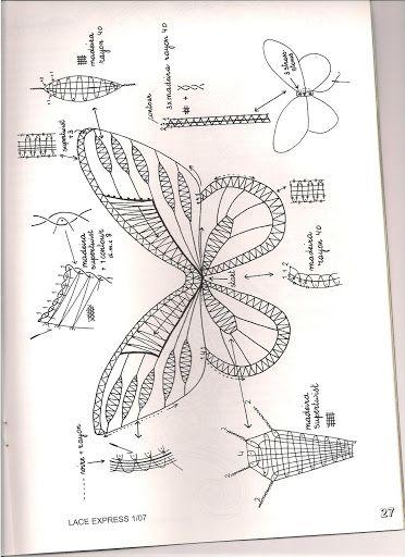 Lace Express 2007- vlinder