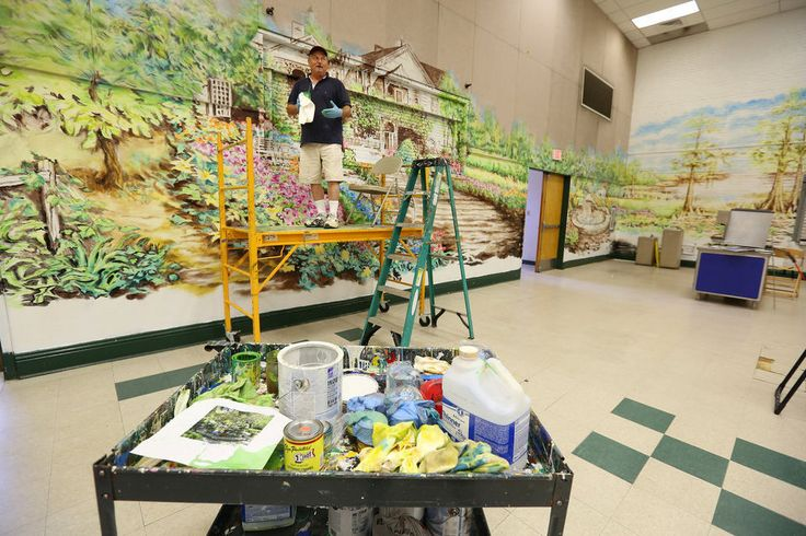 The mural of the story: Joe Wilson's paintings add colorful art to Mobile schools | AL.com