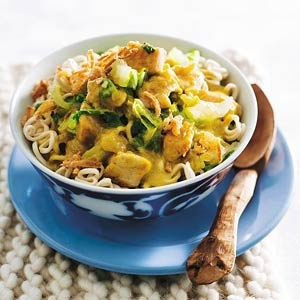 Recept - Noedels met kip en chinese kool - Allerhande