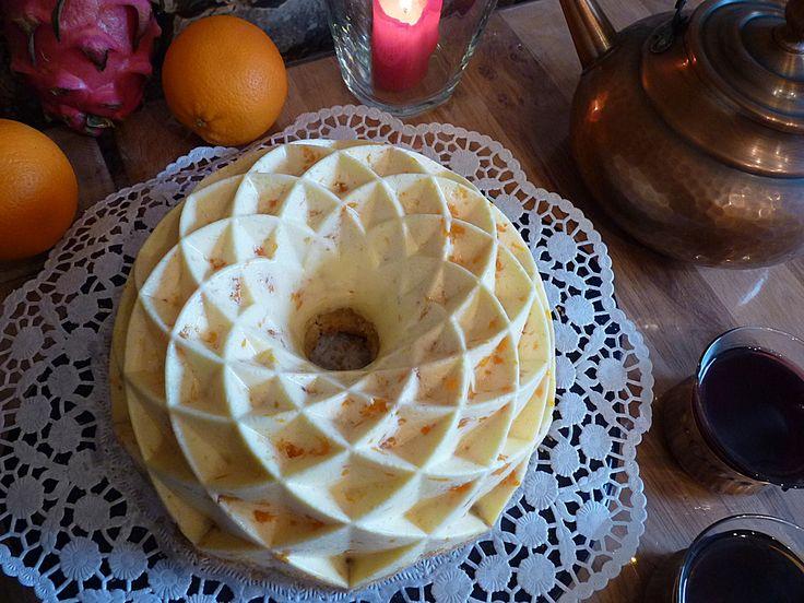 Geheime Rezepte: Mandarinen - Schmand - Pudding - Kuchen