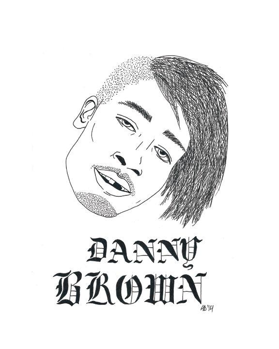 Danny Brown, Colour me Rap - Alex Davey