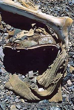 George Mallory died on Everest in 1924, body still perfectly preserved.