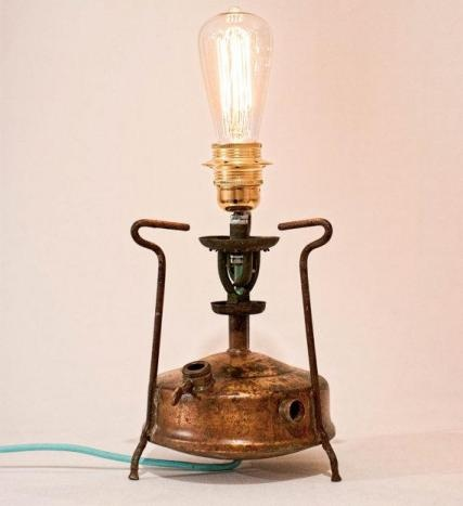 For him brass table lamp primus lamp steampunk lamp for F k a table lamp