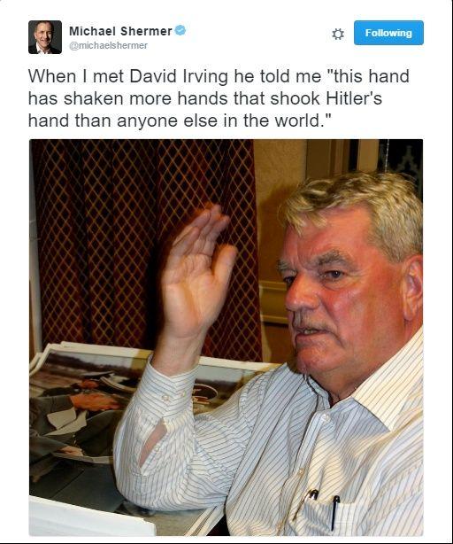 Michael Shermer re David Irving