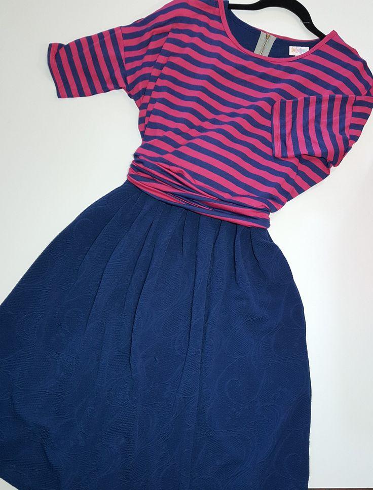I love this Amelia dress and Irma tunic outfit!  It's for sale in my shopping group! LuLaRoe Amelia LuLaRoe Irma