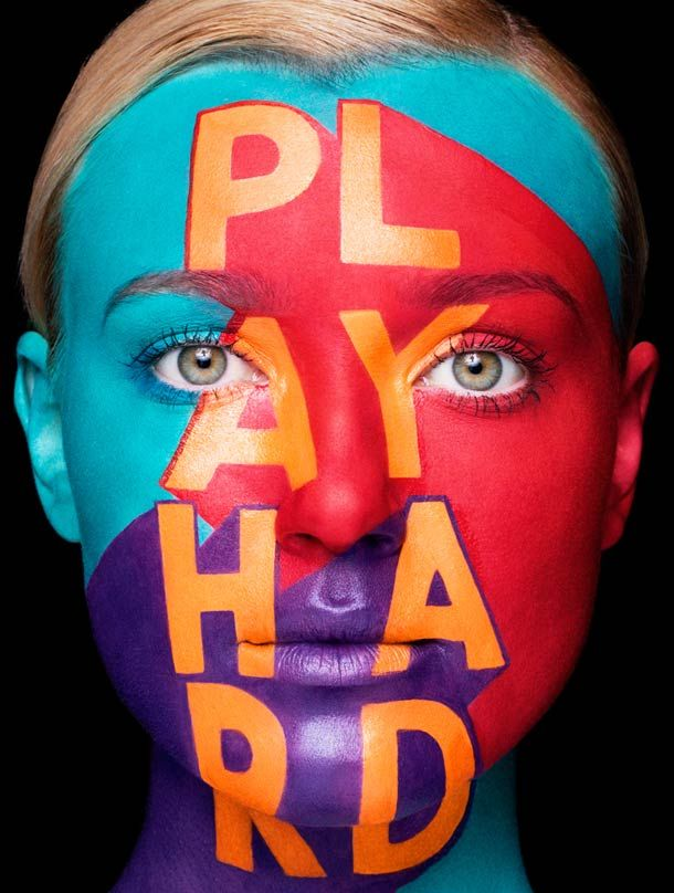 Playhard avec Sagmeister et Walsh Photographies