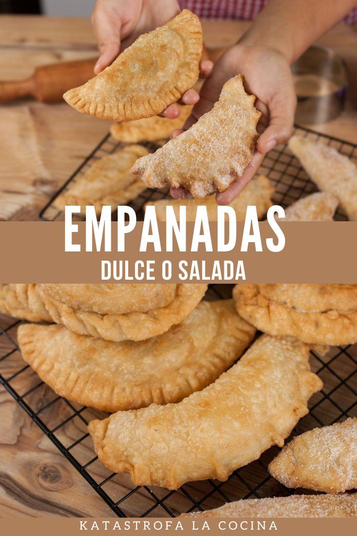 Como hacer masa para empanadas fritas. Dulce o salado. Una masa muy sencilla, economica y con muy poquitos ingredientes. #empanadas #EmpanadasFritas #ComoHacerEmpanadas #EmpanadasDulce #receta #KatastrofaLaCocina My Favorite Food, Favorite Recipes, Few Ingredients, Relleno, Nom Nom, Sweet, Easy, How To Make, Group