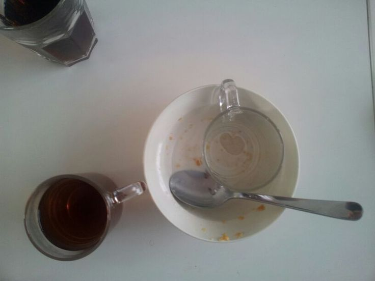 Ontbijt opruimen