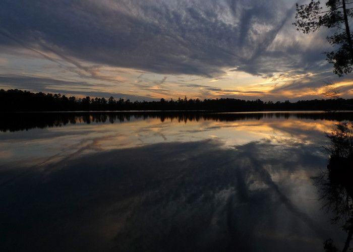 The lovely Atsion Lake.
