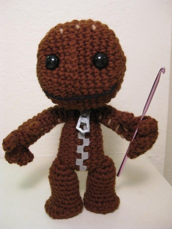 Sackboy Crochet Pattern | Crochet, Kid and Love
