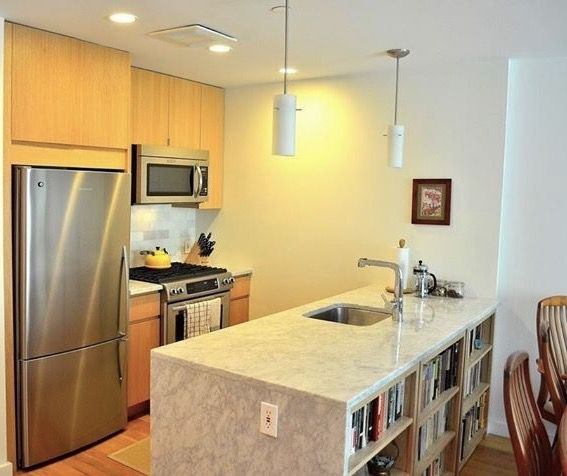 Another Satisfied Client For This Multii Residential Unit In Sunset Park  Brooklyn. Cuisine Ideale Kitchen With Calcutta Marble Countertop.