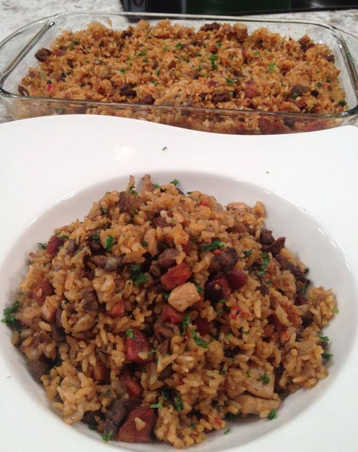 Arroz al horno - Chef Edgardo Noel