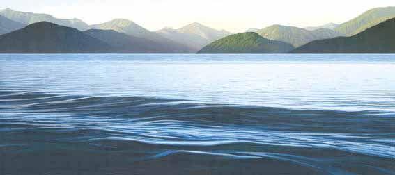 Sounds View 41 by Rick Edmonds for Sale - New Zealand Art Prints