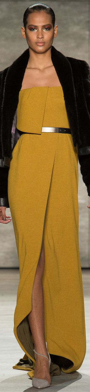 NYFW FALL 2014 Ready-To-Wear featuring Bibhu Mohapatra