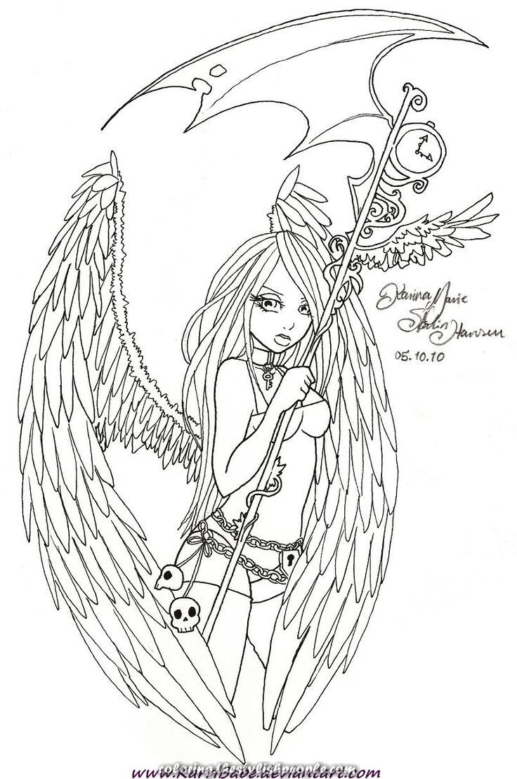 Exceptional Loss Of Life Traces By Karribabe Deviant On Deviantart Fairy Coloring Pages Coloring Pages Cute Coloring Pages [ 1109 x 736 Pixel ]