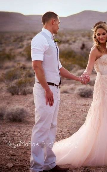 Love the groom's suit...maybe in black or charcoal?...humm