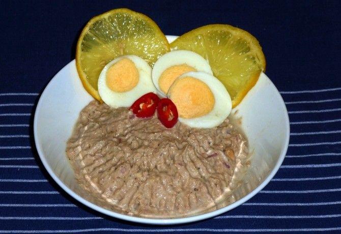Szardíniakrém Márti konyhájából