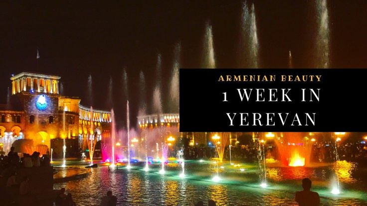 Armenian beauty: What to do and what to visit one week in Yerevan. #traveltips #travelblog #lights #night #blog #advice #armenia