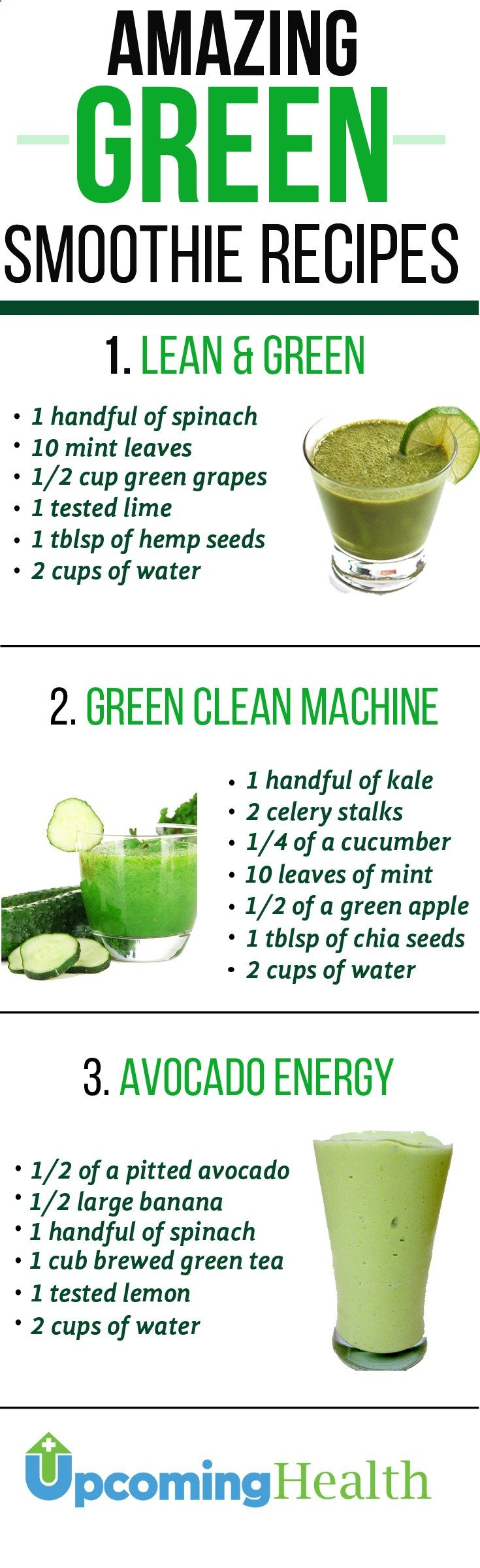 See the benefits of green smoothies and how they will change your health. Check out some of the best green smoothie recipes out there. Dont miss out!