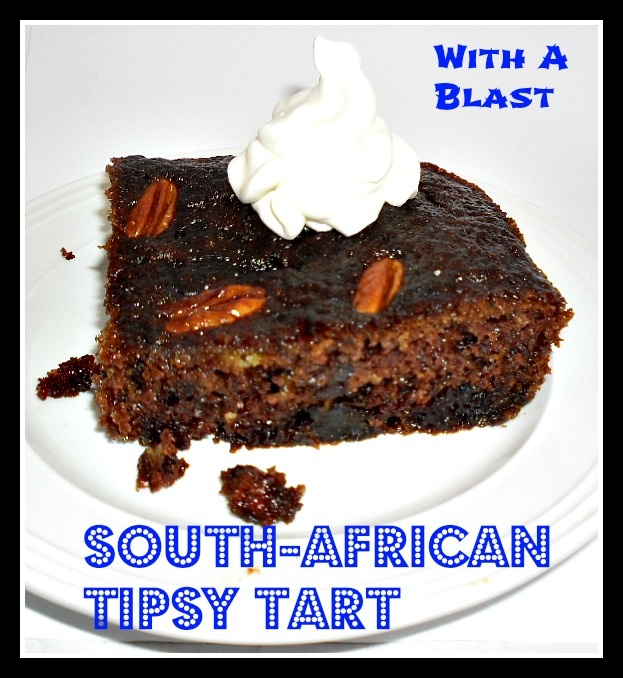South-African TIPSY Tart {also known as CAPE  BRANDY  TART}