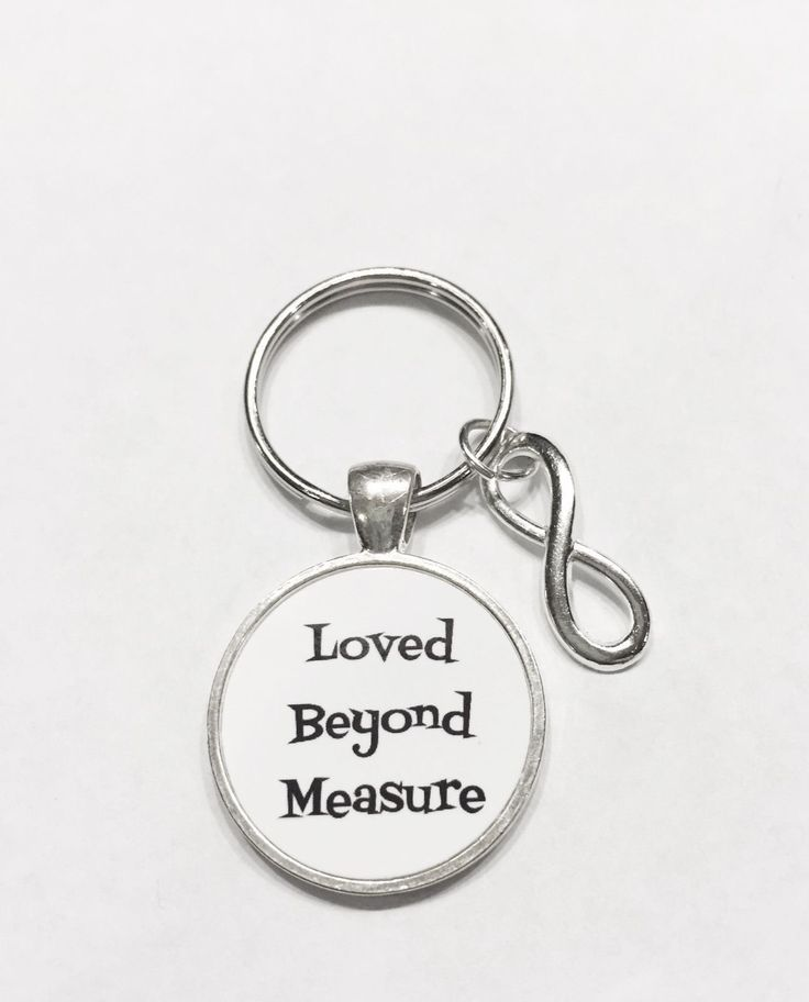 Infinity Loved Beyond Measure Gift For Sister, Mother