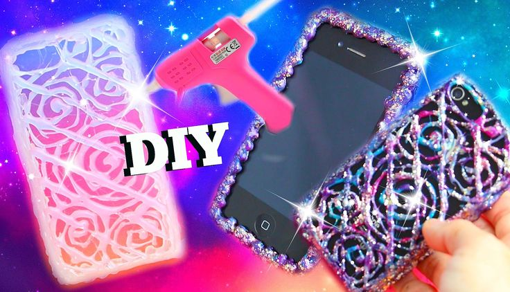 DIY HOT GLUE GUN PHONE CASES l DIY HANDYHÜLLE AUS SILIKON l PatDIY