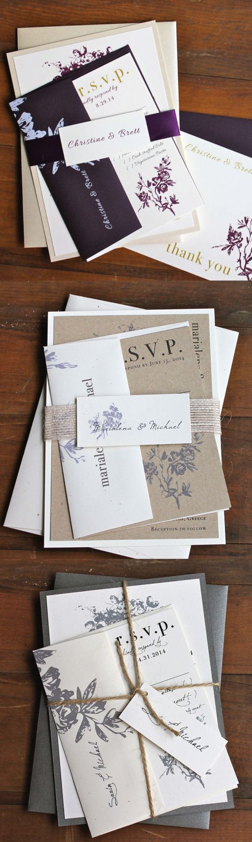 sample spanish wedding invitations%0A Wedding Invitations  Classic and Elegant Wedding Invitations  Gray Wedding   Elegant Ivory Wedding Invitations    All White   Sample