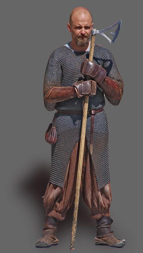 Supposed Viking warrier, Denmark (Dansk Militærhistorie)