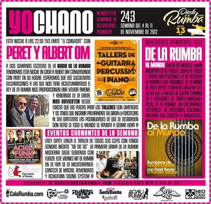 SANT GAUDENCI Rumba Catalana: YOCHANO nº243