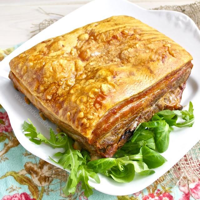Chinese Style Roast Pork Belly