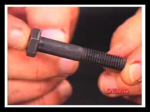 Mechanical Threaded Fasteners Training DVD (MTF)  DEMO