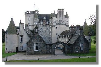 Castle Fraser: The Fraser family supported both the 1715 and 1745 Jacobite Uprisings.