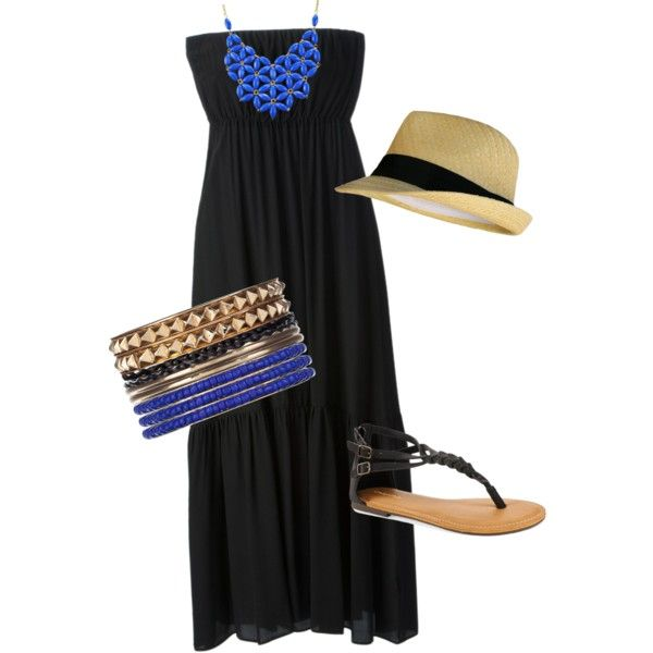 love this maxi dress outfit.