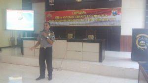 Wakapolres Lamongan Pimpin LATPRAOPS Lilin Semeru 2016
