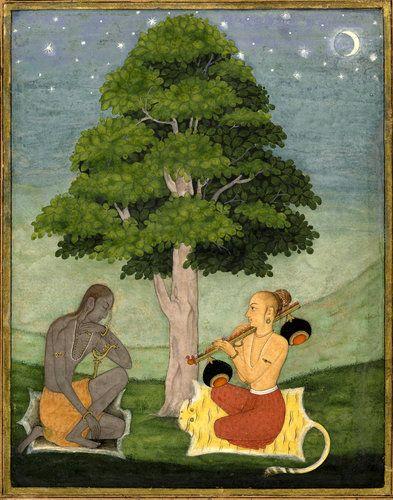 """""""Kedar Ragini,"""" circa 1690-95"""