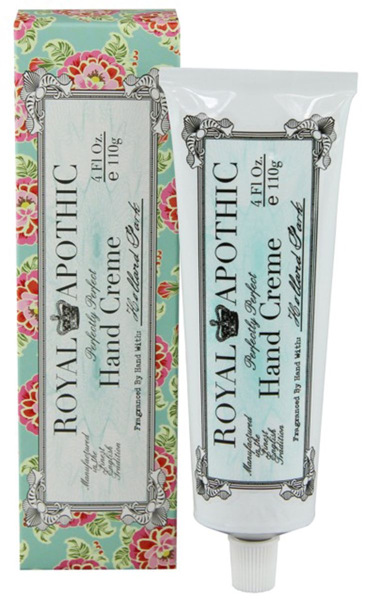 ROYAL APOTHIC Holland Park Hand Cream.  So luxurious.