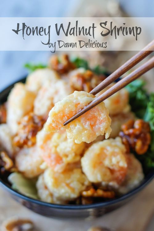 Honey Walnut Shrimp | Easy Cookbook Recipes. So yummy!!!