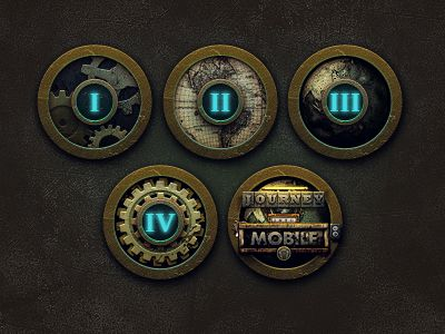 amazing steampunkish icons..