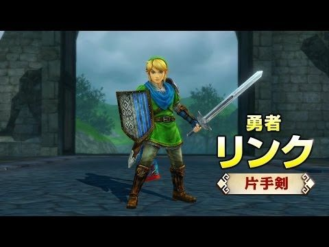 """New Hyrule Warriors Video Featuring Link's """"Sword Play"""" (Japanese)"""