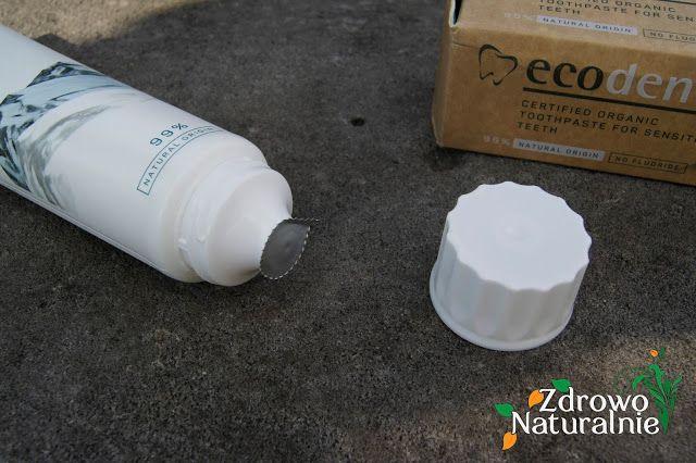 Ecodenta Cosmos Organic - Ekologiczne pasty do zębów - Sól i Kokos | ZdrowoNaturalnie.pl