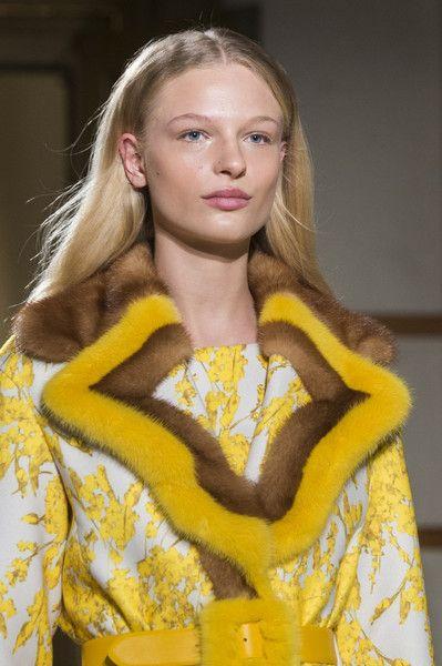 Blumarine at Milan Fashion Week Fall 2017 - Details Runway Photos