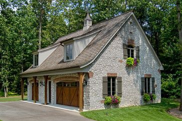 Country French  - Moline James E Builders Inc
