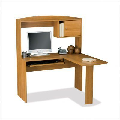 Corner Desk With Hutch On Right Side Woodworking