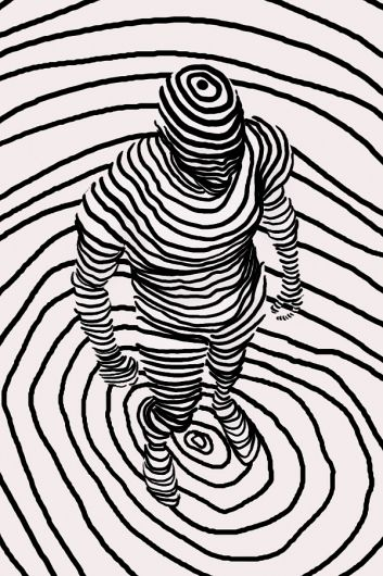Contour Line Drawing Quiz : Best images about wire and continuous line contour