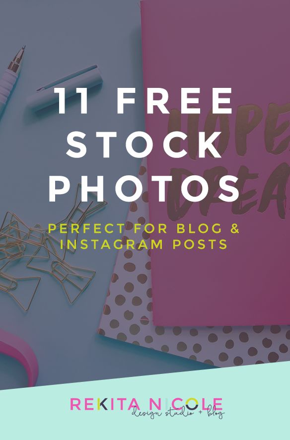 11 Free Stock Photos Perfect for Blog and Instagram Posts · Rekita Nicole