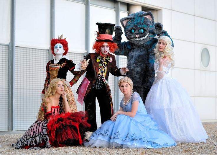 Alice in Wonderland group by *Sandman-AC on deviantART