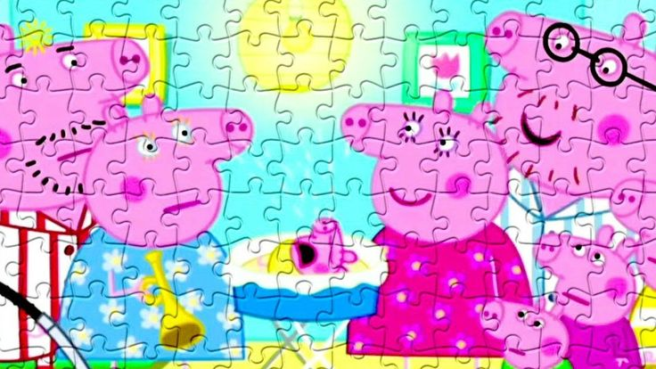 Peppa Pig Baby Alexander Puzzle Game For Kids