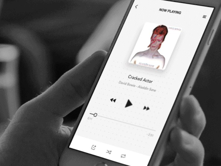 Music Player Fun. Press L to play music (haha).  Thanks @Mocup for the iPhone mockup!
