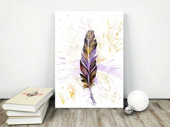 Splash! https://www.etsy.com/uk/listing/468020857/art-print-wall-decor-purple-and-gold